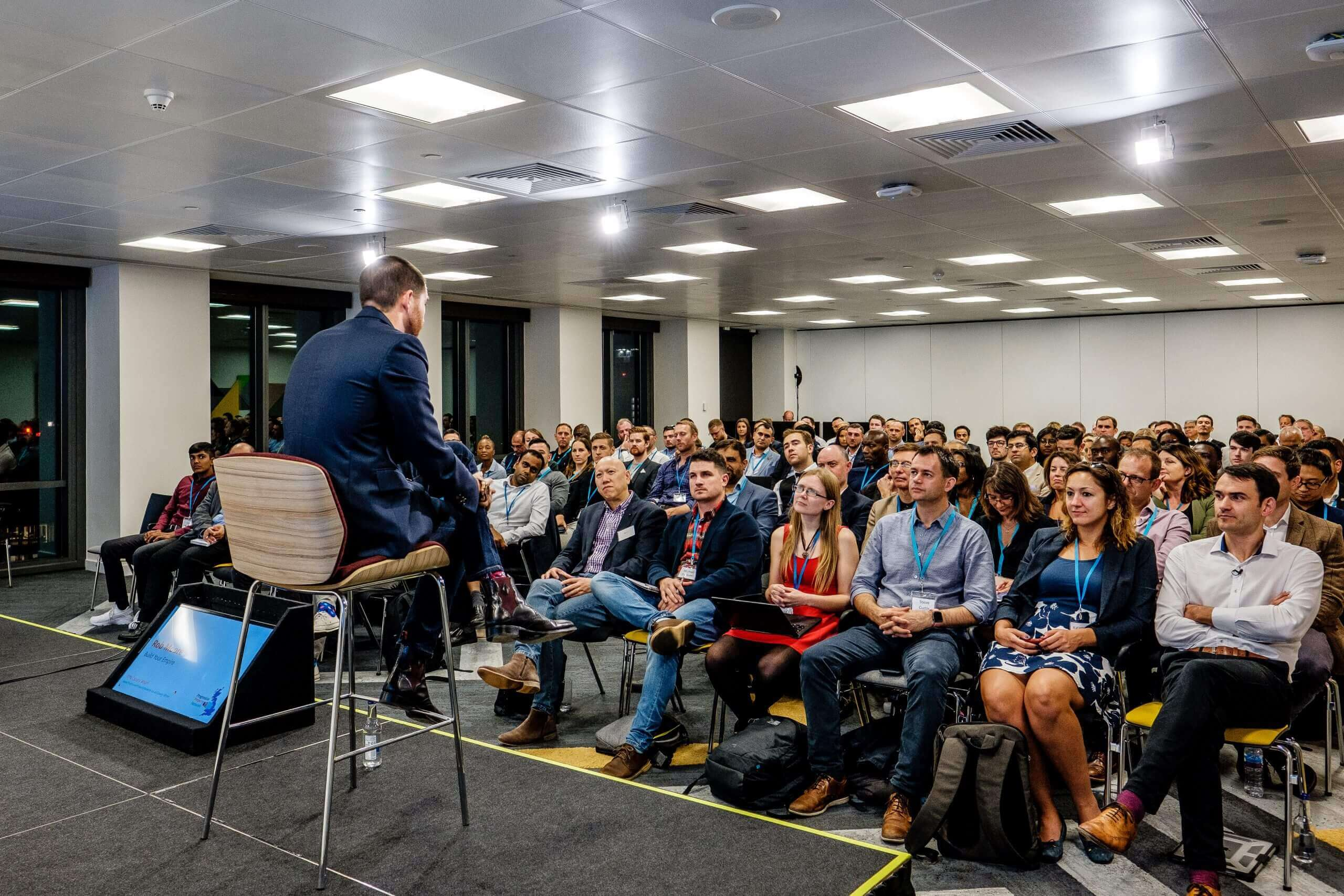 How can you get better at property networking event?